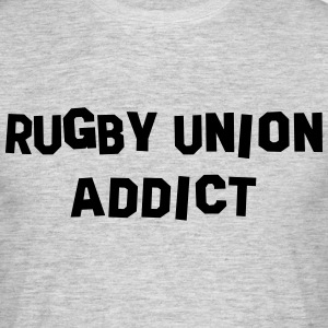 rugby union addict 01 - Men's T-Shirt
