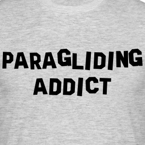 paragliding addict 01 - Men's T-Shirt