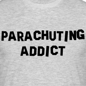 parachuting addict 01 - Men's T-Shirt