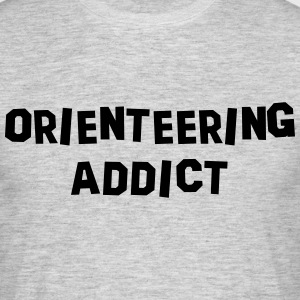 orienteering addict 01 - Men's T-Shirt