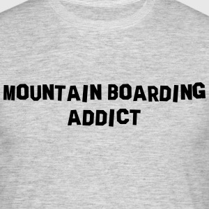 mountain boarding addict 01 - Men's T-Shirt