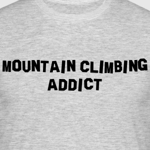 mountain climbing addict 01 - Men's T-Shirt
