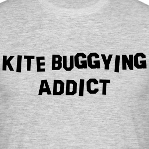 kite buggying addict 01 - Men's T-Shirt