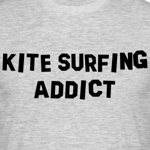 kite surfing addict 01 - Men's T-Shirt