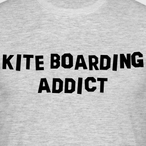 kite boarding addict 01 - Men's T-Shirt