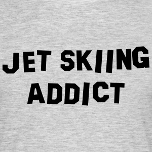 jet skiing addict 01 - Men's T-Shirt