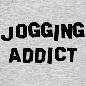 jogging addict 01 - Men's T-Shirt