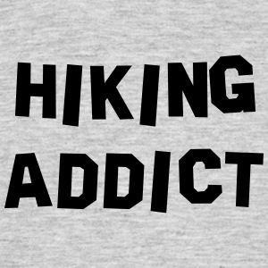 hiking addict 01 - Men's T-Shirt