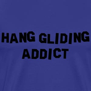 hang gliding addict 01 - Men's Premium T-Shirt