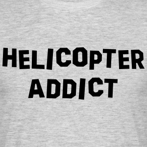helicopter addict 01 - Men's T-Shirt