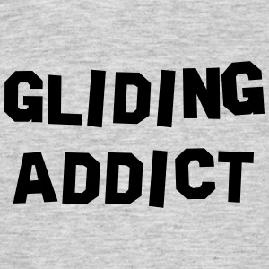 gliding addict 01 - Men's T-Shirt