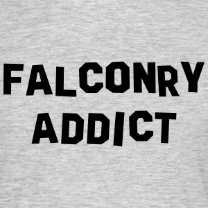 falconry addict 01 - Men's T-Shirt