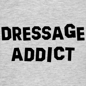 dressage addict 01 - Men's T-Shirt