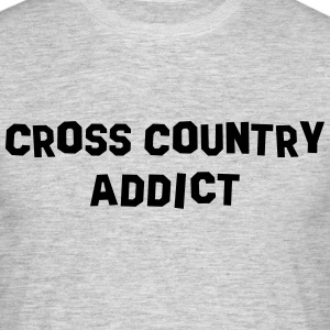 cross country addict 01 - Men's T-Shirt