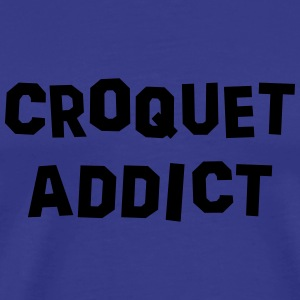 croquet addict 01 - Men's Premium T-Shirt