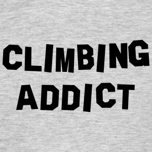 climbing addict 01 - Men's T-Shirt