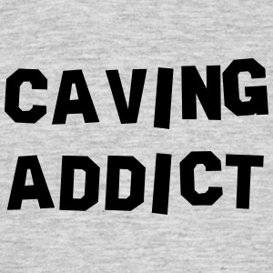 caving addict 01 - Men's T-Shirt