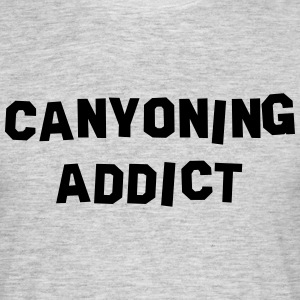canyoning addict 01 - Men's T-Shirt
