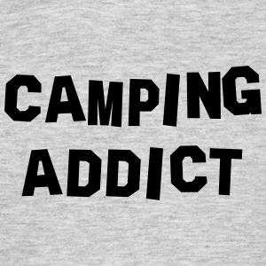 camping addict 01 - Men's T-Shirt