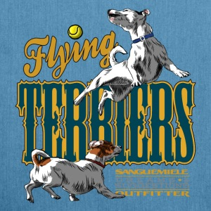 flying terriers Bags & Backpacks - Shoulder Bag made from recycled material