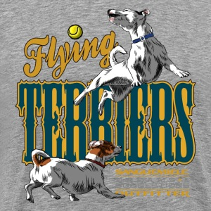 flying terriers Tee shirts - T-shirt Premium Homme