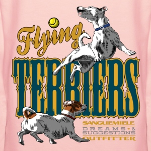 flying terriers Sweat-shirts - Sweat-shirt à capuche Premium pour femmes