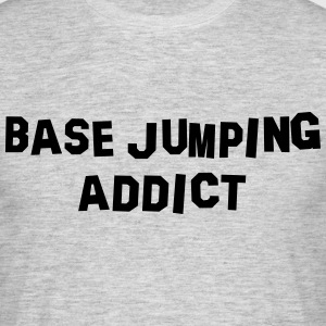 base jumping addict 01 - Men's T-Shirt
