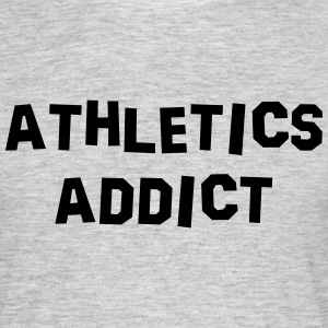 athletics addict 01 - Men's T-Shirt