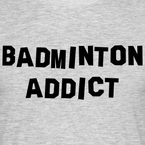 badminton addict 01 - Men's T-Shirt