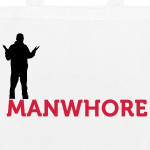 Male whore! Bags & Backpacks - EarthPositive Tote Bag