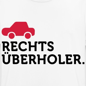Macho Quotes: I overtake right! T-Shirts - Men's Breathable T-Shirt
