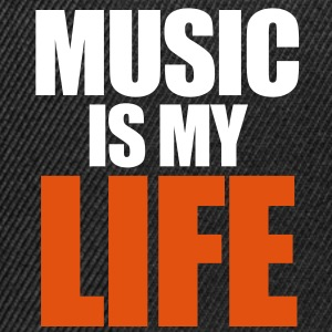 Music Is My Life - Snapback Cap