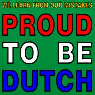 Design ~ DUTCH PRIDE - learn from mistakes