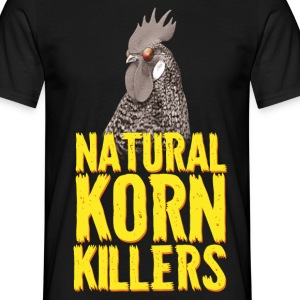 Natural Korn Killers Neck T-Shirts - Männer T-Shirt