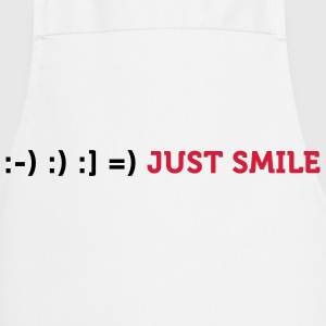 Just smile!  Aprons - Cooking Apron