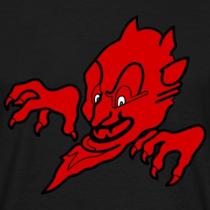 Red devil T-shirts - Herre-T-shirt