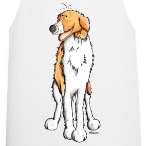 Happy Barzoi  Aprons - Cooking Apron