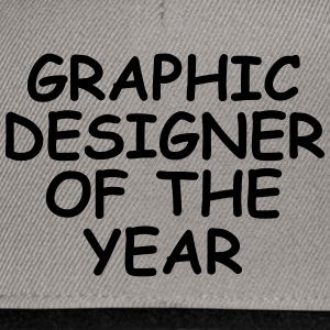 Graphic Designer Of The Year - Snapback Cap