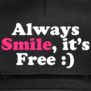Always Smile - Snapback Cap