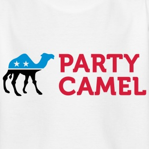 Political Party Animals: Camel Shirts - Teenager T-shirt