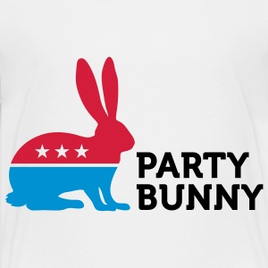 Political Party Animals: Bunny Shirts - Teenager Premium T-shirt
