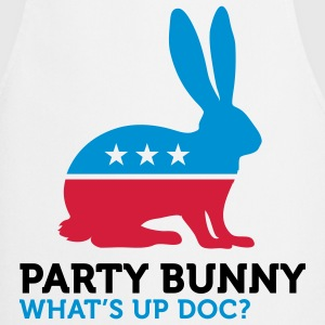 Political Party Animals: Bunny  Aprons - Cooking Apron