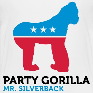 Political Party Animals: Gorilla Shirts - Teenage Premium T-Shirt