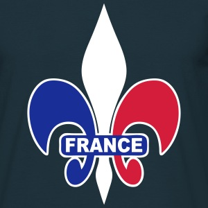 France Lys 02 Tee shirts - T-shirt Homme