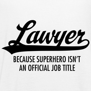 Lawyer - Superhero Tops - Frauen Tank Top von Bella
