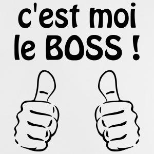 C'est moi le boss ! Humour / Citation / Blague Tee shirts - T-shirt Bébé