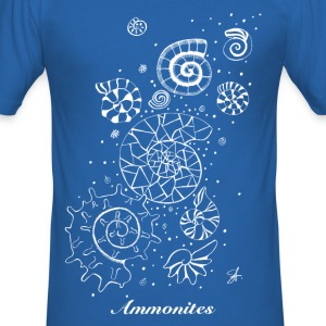 Ammonites Shirt men - Männer Slim Fit T-Shirt