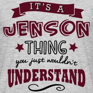 its a jenson name forename thing - Men's T-Shirt
