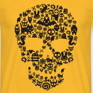 Monsters Skull Tee Shirt - T-shirt Homme