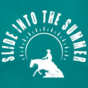 Slide into the summer Camisetas - Camiseta mujer